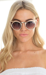 Quay Invader Sunglasses - Gold