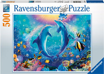 Ravensburger - Dancing Dolphins Puzzle 500 pieces