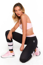 Gem Active Racer Back Sports Crop - Pink