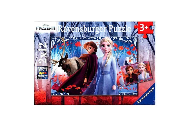 Ravensburger Frozen 2 Journey to the Unknown 2 x 12pc Puzzle