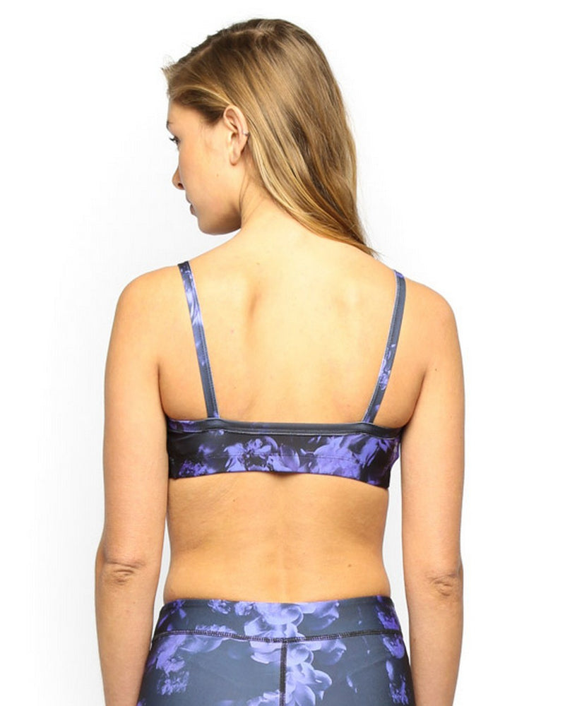 Rialto Sports Bra - Purple Floral