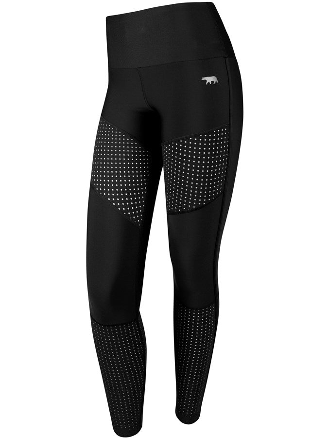 Running Bare STS Mesh Sports Leggings