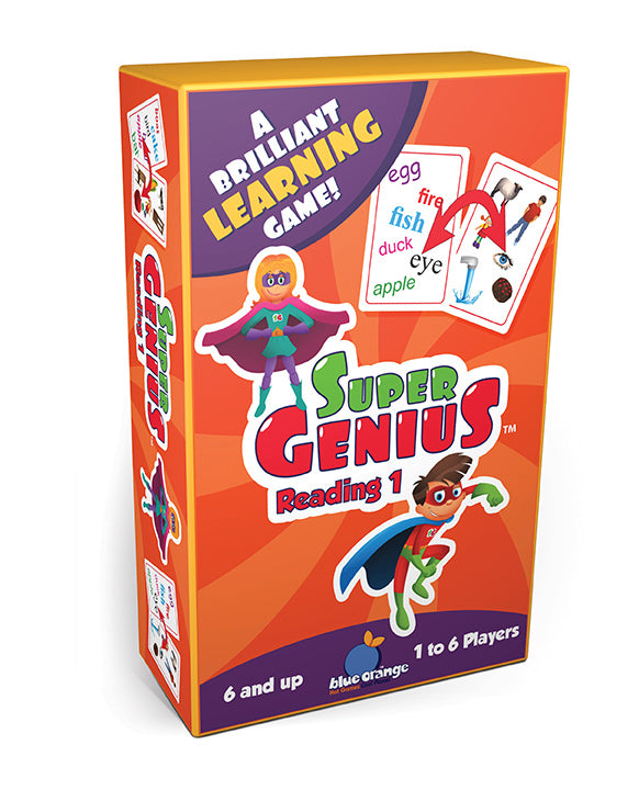 Blue Orange Games Super Genius - Reading 1
