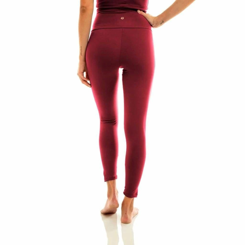Liquido Ultra High-Waist 7/8 Eco Legging Wine