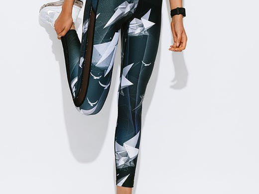 We Are Handsome Paper Planes Active Panel Leggings