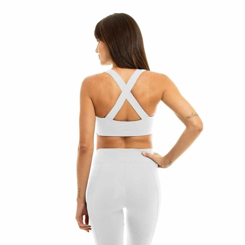 Liquido X-Back Eco Bra White