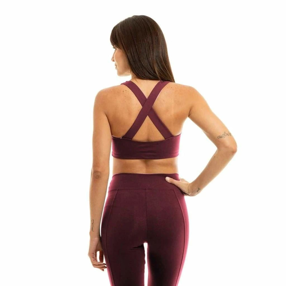 Liquido X-Back Eco Bra Wine