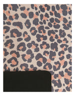 Yellow Willow Blush Leopard Yoga Towel