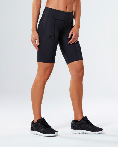 2XU Womens Mid-Rise Compression Shorts - 2 Colours