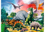 Ravensburger Among The Dinosaurs Puzzle 100pc