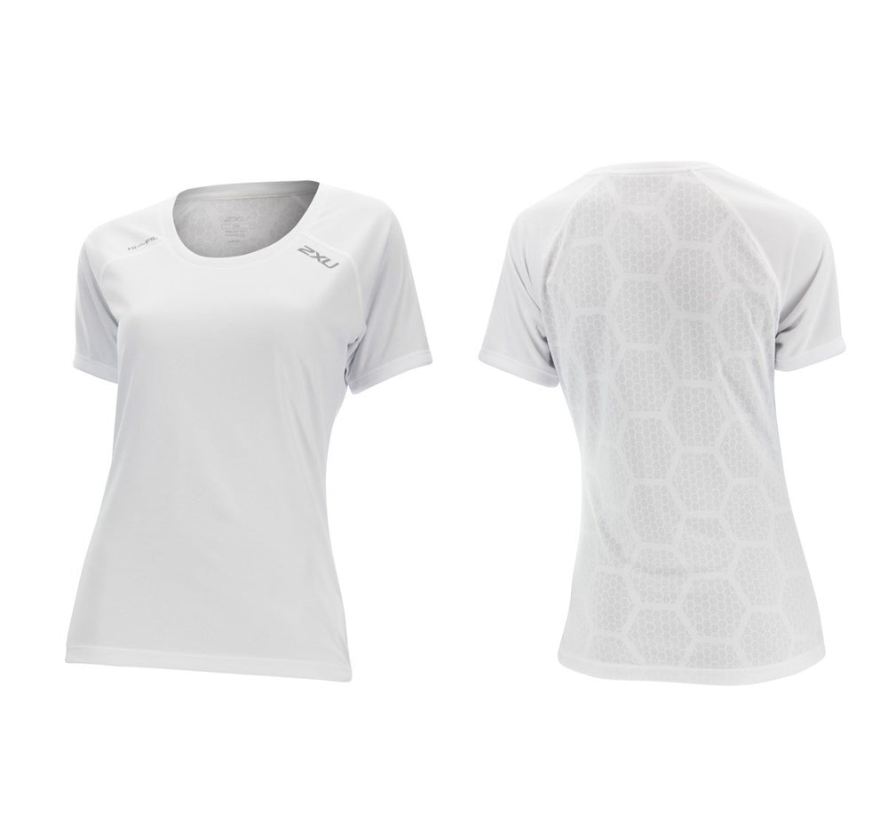 2XU TECH VENT SHORT SLEEVE RUNNING TOP SALE