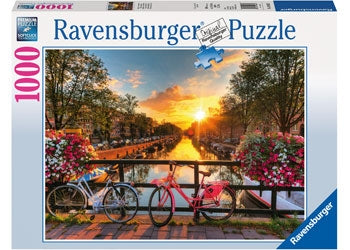Ravensburger - Bicycles in Amsterdam 1000pc Puzzle Adult Puzzle