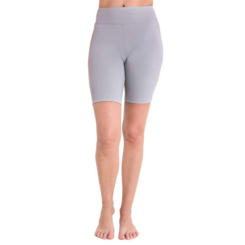 Liquido Biker Eco Shorts - Light Grey