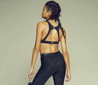 Peek A Boo Sports Bra