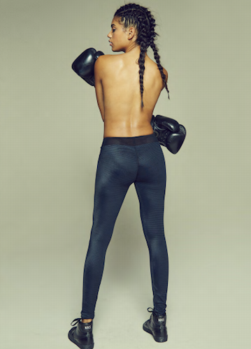 Embossed Sports Leggings