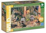 Blue Opal Wild Aust On the Forest Floor 200pc Puzzle