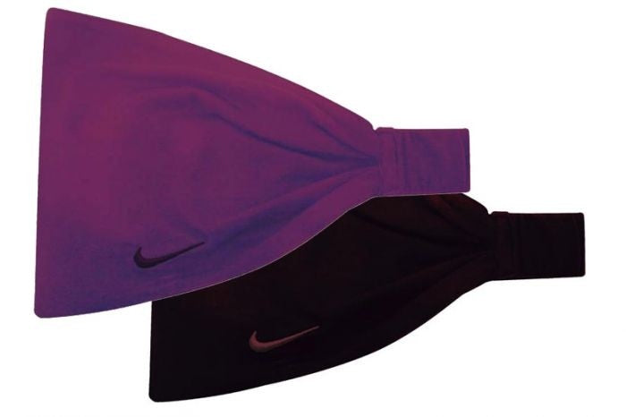 Nike Reversible/Expandable Jersey Headbands - 2 Colours