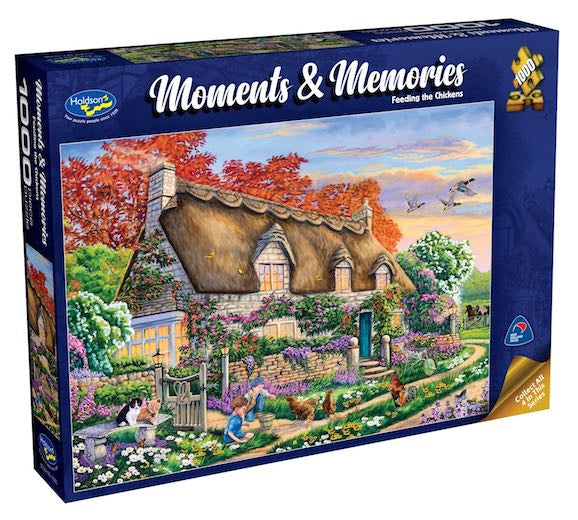 Holdson Moments & Memories Feeding The Chickens 1000pc Puzzle
