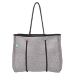 Chuchka Charcoal Mini Neoprene Tote Bag