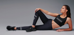 Jaggad Core Compression Tights - Black/White