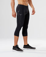 2XU Mens Compression 3/4 Tights - 2 Colours