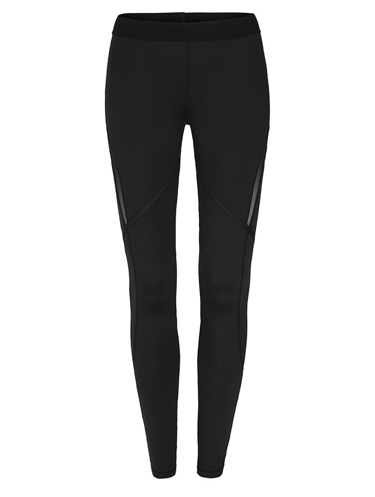 This Is First Base Mesh Panel Sports Tights
