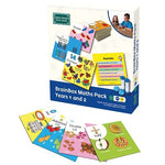 Green Board Games Brainbox Maths Pack - Years 1 And 2