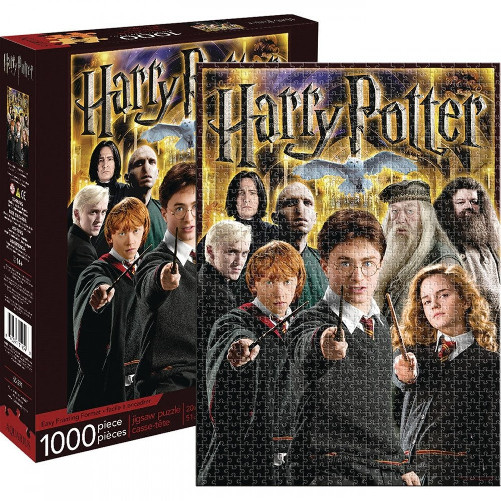 Harry Potter - Collage 1000pc Puzzle