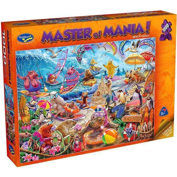 Holdsons Beach Mania 1000pc Puzzle