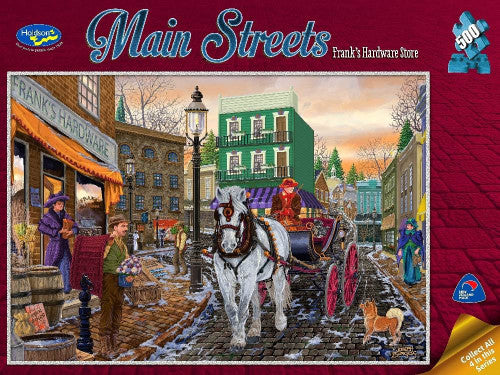 Holdson Main Streets Hardware 500Pc Puzzle