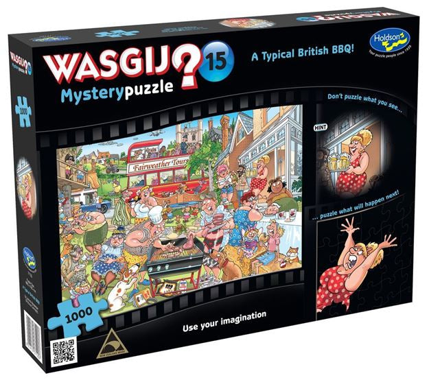 Holdson Wasgij? Mystery 15 British Bbq Puzzle