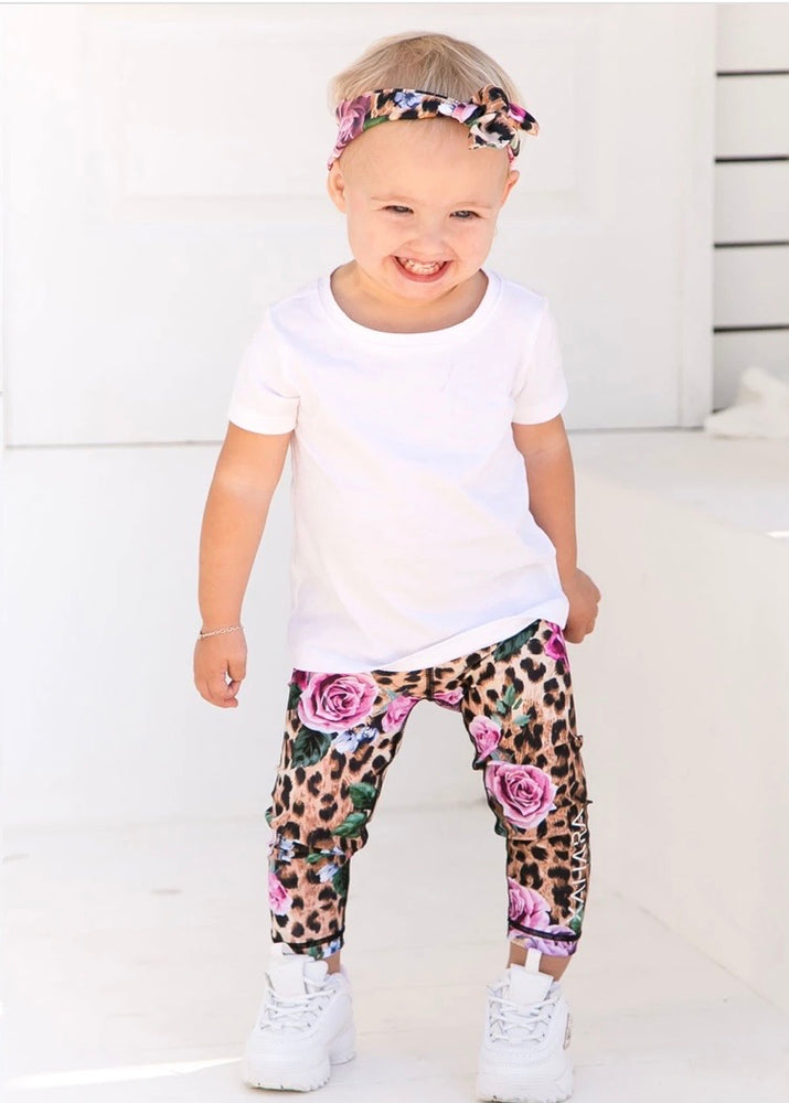 Xahara Junior Leopard Love Sports Leggings