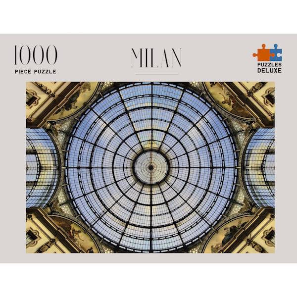 Milan Italy - Puzzles Deluxe 1000pc Jigsaw