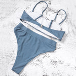 High Waist Bikini - 10 Colours