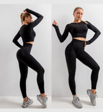 Seamless Activewear Set - 5pcs