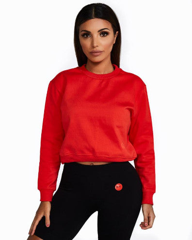 Nicky Kay ImSoFierce Sweatshirt - Red