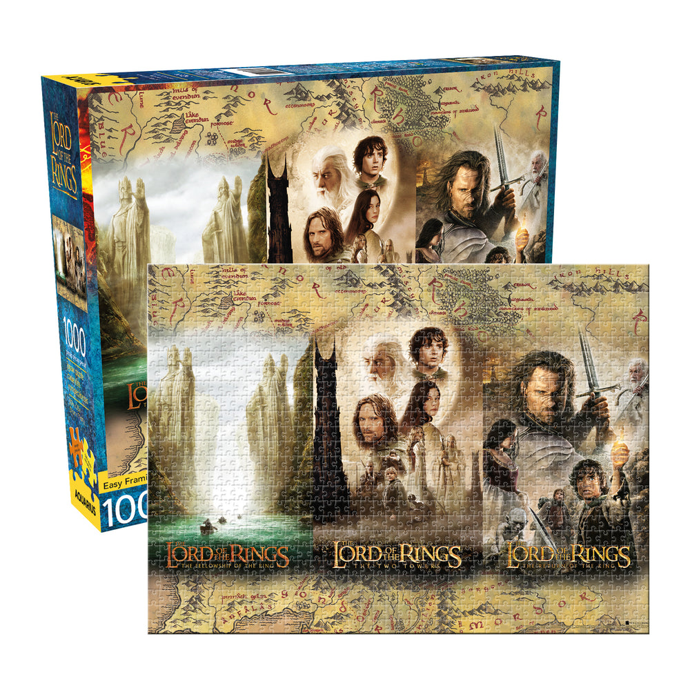 Lord Of The Rings Triptych 1000pc Puzzle