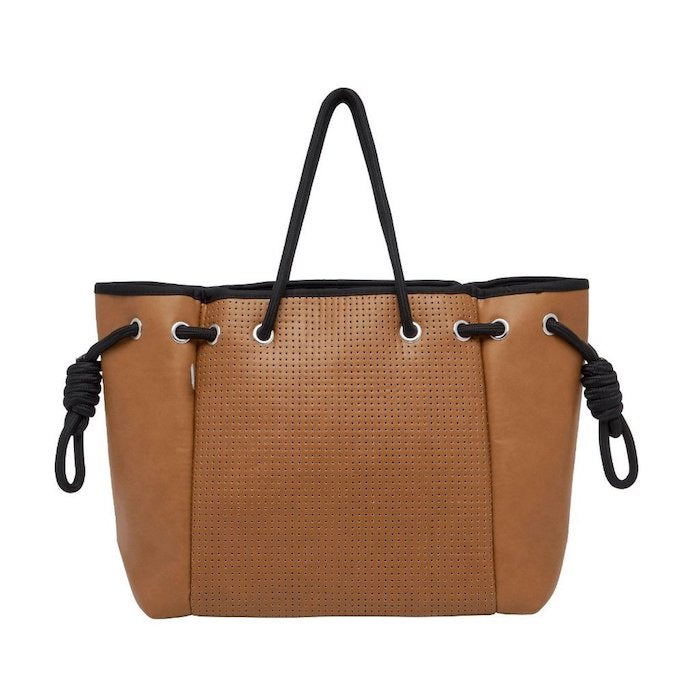 Chuchka Koto Vegan Leather Tote Bag - Tan