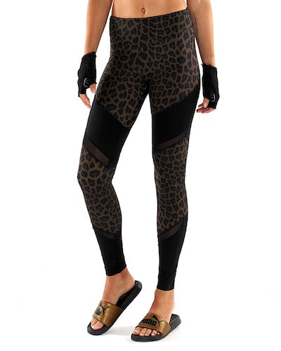 L'urv Animal Magic Spliced Sports Leggings