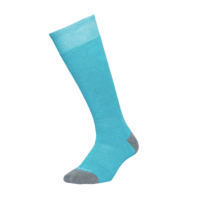 Le Bent Alpha Ski Socks - Aqua
