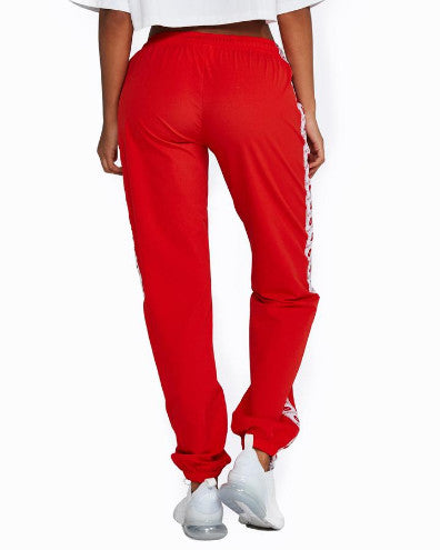Nicky Kay Logo Track Pants - Red/White