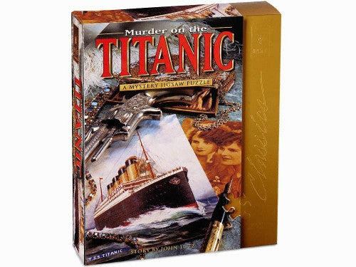 Murder On The Titanic Bepuzzled 1000pc Puzzle