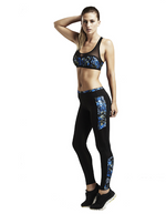 Nimble Lara Sports Tights - Blue Rapture