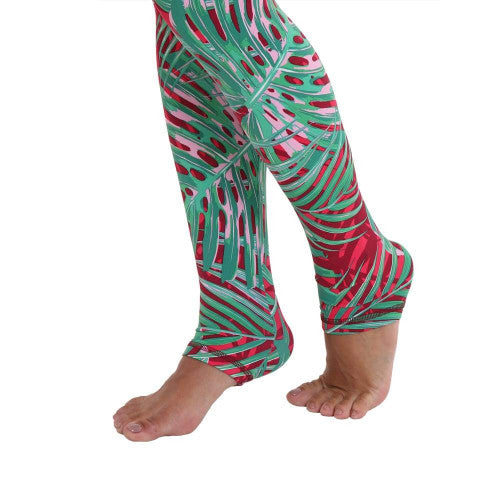 Liquido OM Sports Leggings - Palm Dreams