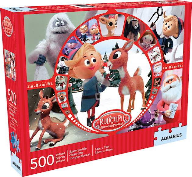 Rudolph Collage 500pc Jigsaw Puzzle