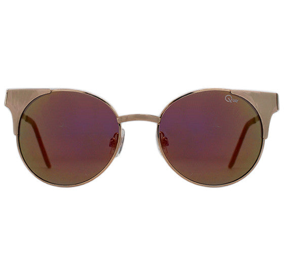 Quay Asha Sunglasses - Gold