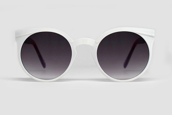 Quay Kosha Sunglasses - White
