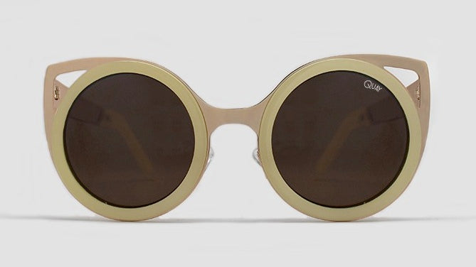 Quay Let's Dance Sunglasses - Gold