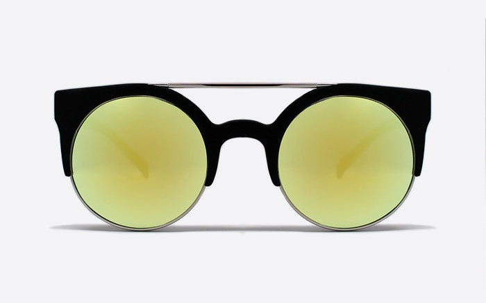 Quay Livnow Sunglasses - Black/Yellow