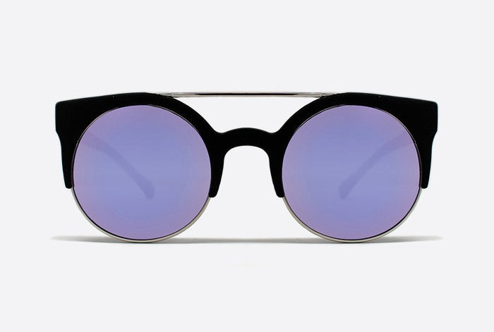 Quay Livnow Sunglasses - Black/Purple